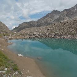Живое и Мертвое озера в ущелье Адур-су Место силы