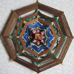 Шаманская мандала Символ Жизни