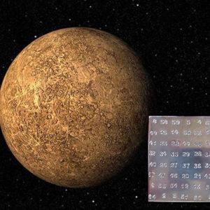 Магический квадрат Меркурия