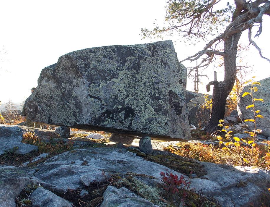 парящий камень сейд саамы