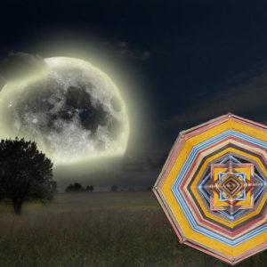 Шаманская мандала Сила Луны