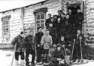 Начальная точка маршрута экспедиции Дятлова