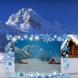 Дом в горах картина маслом