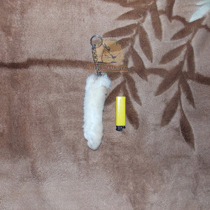 Кроличья лапка амулет на цепочке