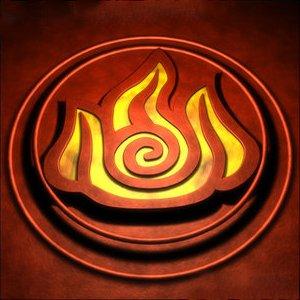 Символ стихии Огня рисунок