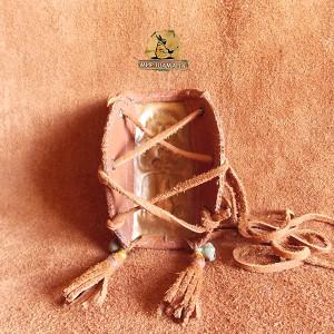 Шаманский браслет вид изнутри