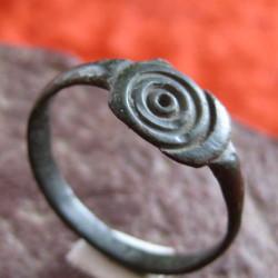 Кольцо шаманское солярный знак