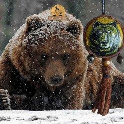 Тотем Медведь оберег ручная работа