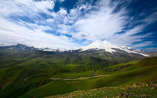 Гора Эльбрус место силы