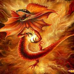 Саламандра Дух Огня