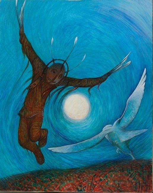 душа птица