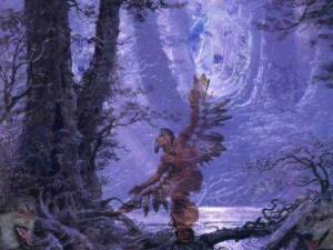 Ритуальный танец шамана