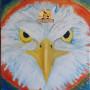 Дух Солнца Орёл картина маслом