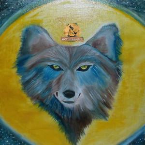 волк дух луны картина шамана