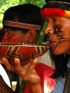 Племя индейцев хиваро