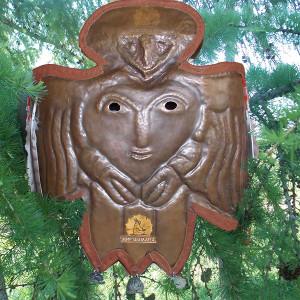маска ритуальная шамана Душа