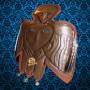 Пермский звериный стиль Птица маска ритуальная