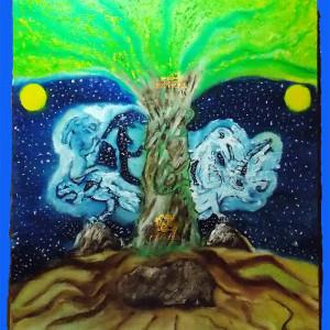 миры древо жизни картина