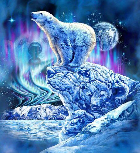 белый медведь шаман