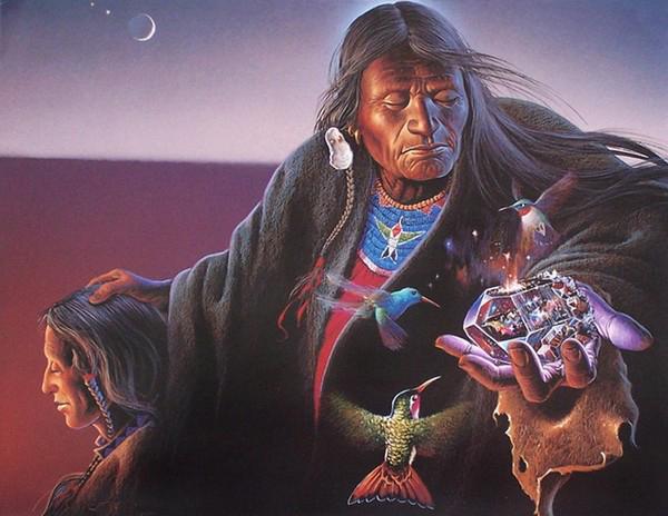 шаманское видение