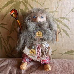 Оберег кукла Домовой Дух дома купить