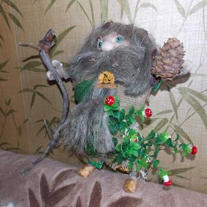Кукла оберег Леший Дух леса