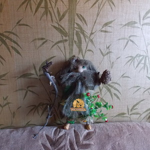 Леший лесной дух обережная кукла