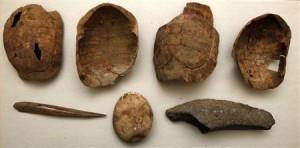 атрибуты из могилы шамана