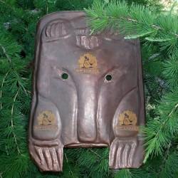Шаманская маска Медведь пермский звериный стиль