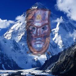 дух камня маска шаманская