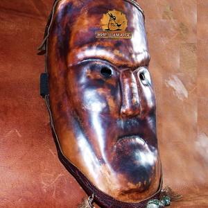 маска шаманская кремень камень