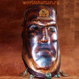 маска шамана каменный дух