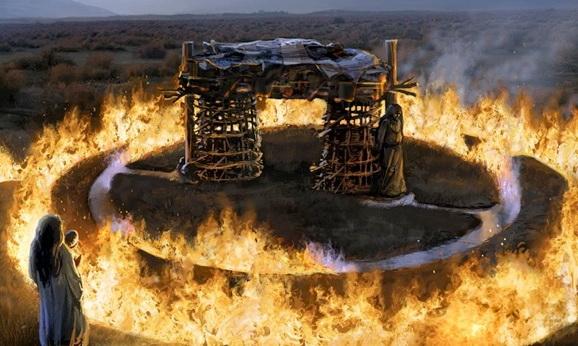 Сожжение тела после смерти