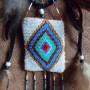 Талисман индейский из бисера