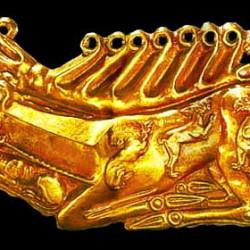 скифский звериный стиль золотой олень
