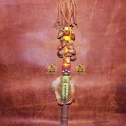 Индейский инструмент маракас шумелка