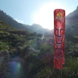 языческий идол солнечный щит
