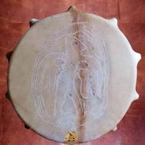 шаманский бубен человеколось пермский звериный стиль