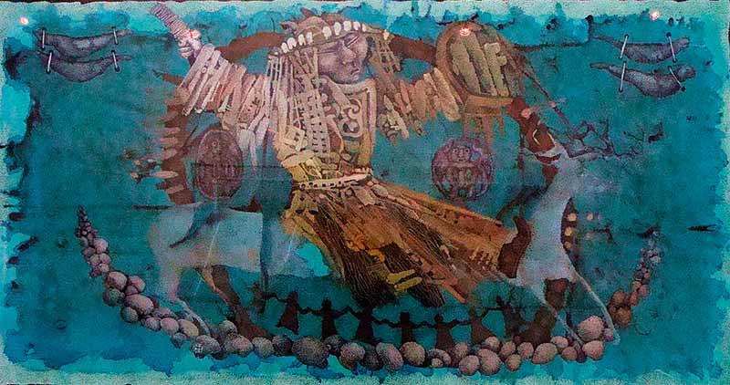 девять бубнов шамана