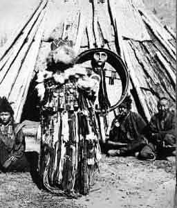 алтайский шаман камлание