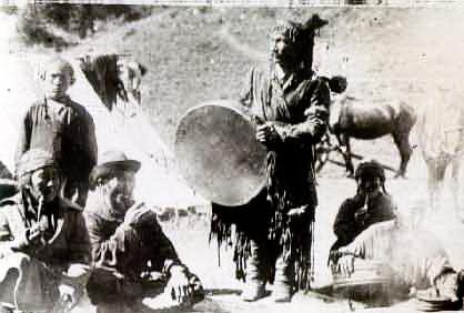 шаман алтайский 1930-е годы