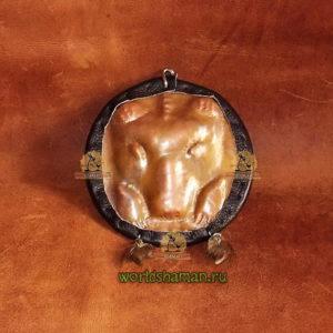 ош медведь шаманское зеркало пермский звериный стиль