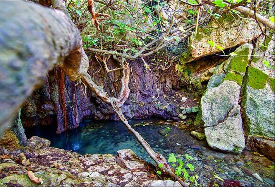 купальня афродиты места силы кипр
