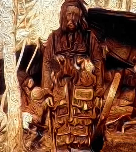 шаман в шаманских зеркалах