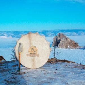 шаманский бубен байкал ольвхон