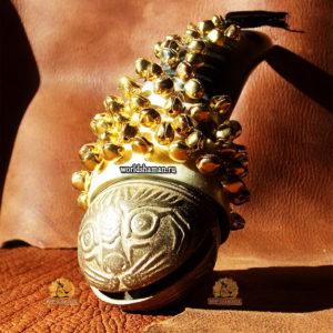шаманская шумелка оберег золотой дракон