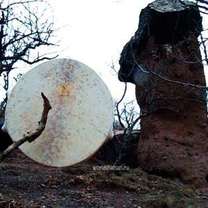 бубен купить каменный гриб
