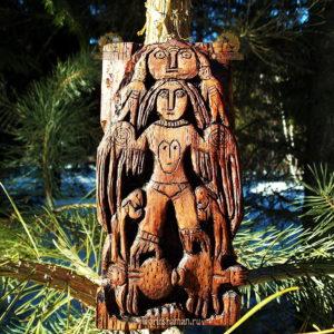 богиня на пауках пермский звериный стиль