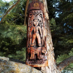 пермский звериный стиль богиня с журавлями