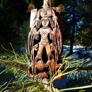 пермский звериный стиль богини